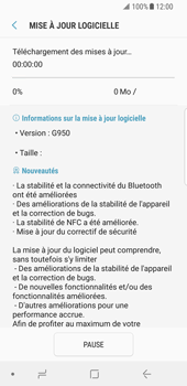 Samsung Galaxy S8 - Android Oreo - Logiciels - Installation de mises à jour - Étape 8