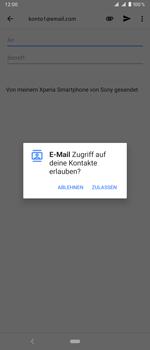 Sony Xperia 1 - E-Mail - E-Mail versenden - Schritt 5