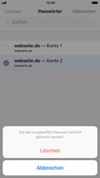 Apple iPhone 6s - iOS 11 - Anmeldedaten hinzufügen/entfernen - 12 / 13