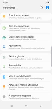 Samsung Galaxy Note 10 Plus 5G - Prise en main - Comment ajouter une langue de clavier - Étape 4
