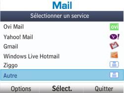 Nokia Asha 201 - E-mail - Configuration manuelle - Étape 5