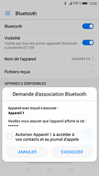 Huawei P9 - Android Nougat - Bluetooth - connexion Bluetooth - Étape 8