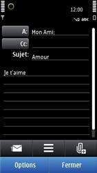 Nokia N8-00 - E-mail - Envoi d