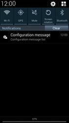 Samsung I9505 Galaxy S IV LTE - MMS - Automatic configuration - Step 4