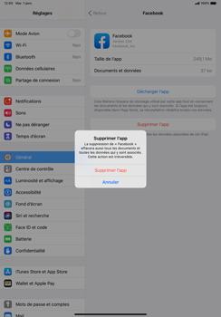Apple iPad Pro 11 (2018) - iPadOS 13 - Applications - Comment désinstaller une application - Étape 7