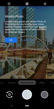 Google Pixel 3 - Photos, vidéos, musique - Créer une vidéo - Étape 6