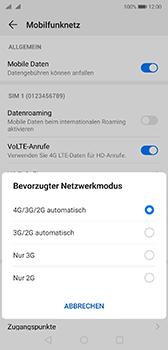 Huawei P20 - Android Pie - Netzwerk - Netzwerkeinstellungen ändern - Schritt 6