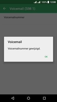Acer Liquid Z630 - Voicemail - Handmatig instellen - Stap 11