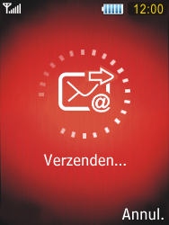Samsung S5550 Chester - E-mail - Hoe te versturen - Stap 14