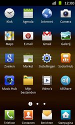 Samsung I9070 Galaxy S Advance - E-mail - handmatig instellen - Stap 3
