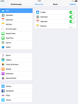 Apple iPad 4 - E-Mail - Konto einrichten (gmail) - 8 / 11