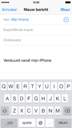 Apple iPhone 5 (iOS 8) - e-mail - hoe te versturen - stap 6