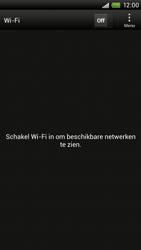 HTC S720e One X - WiFi - Handmatig instellen - Stap 6
