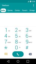 LG LG K4 - voicemail - handmatig instellen - stap 4