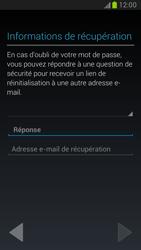 Samsung Galaxy Note 2 - Premiers pas - Créer un compte - Étape 19