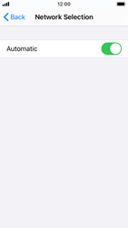 Apple iPhone SE - iOS 14 - Network - Manual network selection - Step 5
