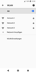 Sony Xperia XZ2 Compact - WLAN - Manuelle Konfiguration - Schritt 7