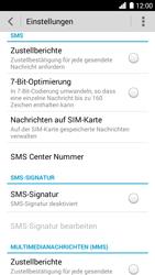 Huawei Ascend G6 - SMS - Manuelle Konfiguration - Schritt 8