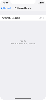 Apple iPhone XS - Software - Installing software updates - Step 8
