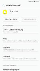 Samsung Galaxy S6 - Android Nougat - Apps - Eine App deinstallieren - Schritt 6