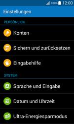 Samsung G318H Galaxy Trend 2 Lite - Fehlerbehebung - Handy zurücksetzen - Schritt 6