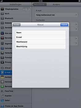 Apple iPad mini - E-mail - handmatig instellen - Stap 9