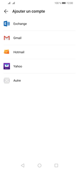 Huawei P30 Lite - E-mail - 032b. Email wizard - Yahoo - Étape 5