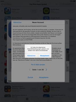 Apple iPad Air iOS 8 - Apps - Einrichten des App Stores - Schritt 12