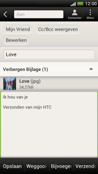 HTC Z520e One S - E-mail - Hoe te versturen - Stap 14