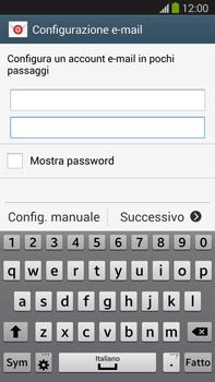Samsung Galaxy Note III LTE - E-mail - configurazione manuale - Fase 6