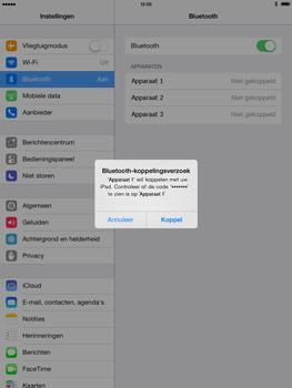 Apple iPad 4th generation iOS 7 - Bluetooth - koppelen met ander apparaat - Stap 8