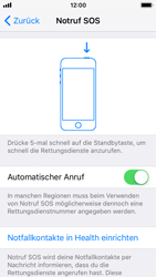 Apple iPhone SE - iOS 11 - Notfall – SOS - 1 / 1