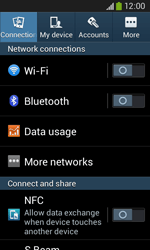 Samsung Galaxy Ace III - Network - Manual network selection - Step 4