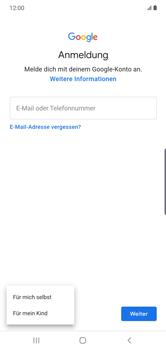 Samsung Galaxy Note 10 Plus 5G - Apps - Einrichten des App Stores - Schritt 6