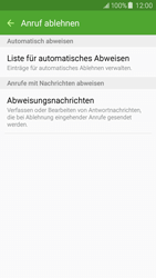 Samsung J500F Galaxy J5 - Anrufe - Anrufe blockieren - Schritt 7