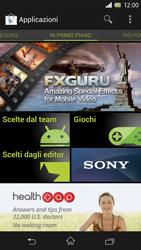 Sony Xperia Z - Applicazioni - Configurazione del negozio applicazioni - Fase 16