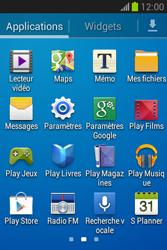 Samsung S6790 Galaxy Fame Lite - Internet - configuration manuelle - Étape 4