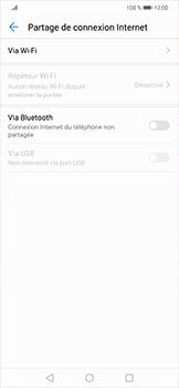 Huawei Mate 20 lite - Internet et connexion - Utiliser le mode modem par USB - Étape 5
