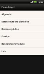 HTC One SV - Internet und Datenroaming - Manuelle Konfiguration - Schritt 21