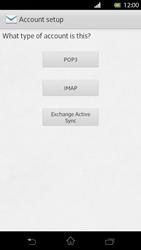 Sony LT30p Xperia T - E-mail - Manual configuration - Step 6