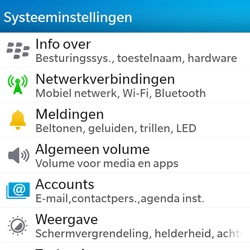 BlackBerry Q5 - bluetooth - headset, carkit verbinding - stap 4