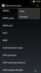 Acer Liquid E3 - MMS - Manual configuration - Step 15