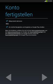 Samsung N5100 Galaxy Note 8-0 - Apps - Konto anlegen und einrichten - Schritt 17