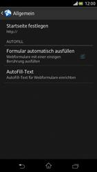 Sony Xperia V - Internet und Datenroaming - Manuelle Konfiguration - Schritt 25