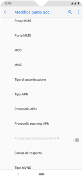 Nokia 7.2 - MMS - Configurazione manuale - Fase 13
