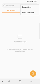 Samsung Galaxy S8 - Android Oreo - SMS - Configuration manuelle - Étape 5