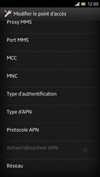Sony LT28h Xperia ion - MMS - Configuration manuelle - Étape 13
