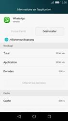 Huawei P8 Lite - Applications - Supprimer une application - Étape 5
