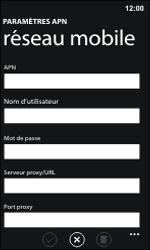 Nokia Lumia 800 / Lumia 900 - Internet et roaming de données - Configuration manuelle - Étape 9
