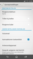 Sony Xperia Z3 Compact - voicemail - handmatig instellen - stap 5